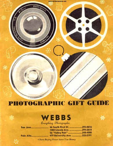 webbs photographic booklet antique cameras old cameras 1950 s rh butkus org Wild Game Camera User Manual LEGO Instruction Manuals