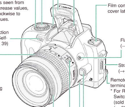 canon eos ix 7 ix lite manual user manual free instruction rh butkus org Canon EOS Rebel G Canon EOS Rebel G