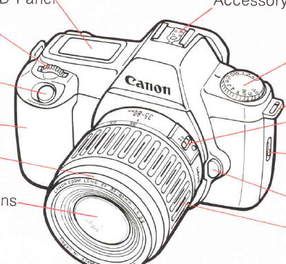 canon_3 canon eos rebel instruction manual, user manual