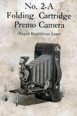 Kodak Folding Cartridge Premo No. 2, Cartridge Premo 2A
