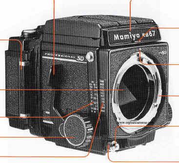 Mamiya RB67 Prof SD instruction manual, user manual, PDF