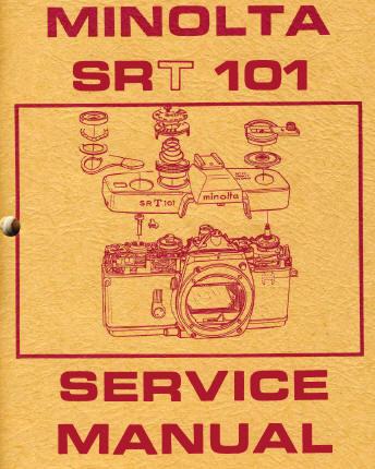 minolta sr t 101 instruction manual user manual pdf manual free rh butkus org minolta srt 101 service manual minolta srt 102 service manual