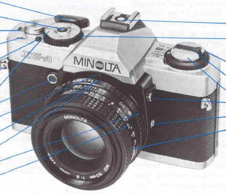 Minolta Xg-M Service Manual