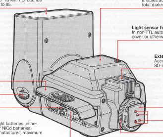 Genuine original nikon brand speedlite sb-24 instruction manual.