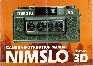 Nimslo 35mm 3D camera