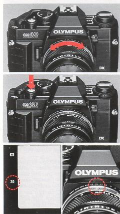 GENUINE OLYMPUS OM40 PROGRAM FILM CAMERA FULL INSTRUCTIONS MANUAL 82 PAGES