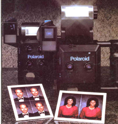 Polaroid SX-70, SX-70 model 3, model 20, Polaroid 110A, polaroid