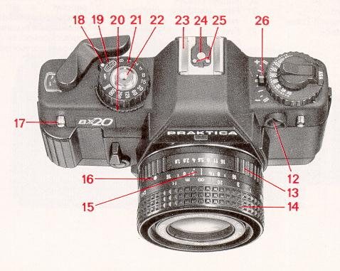 Praktica bx camera instruction manual user manual pdf manual