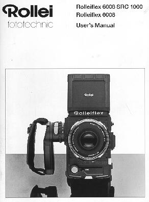 rollei rolleiflex 6008 scr 1000 instruction manual rolleiflex rh butkus org Rollei Digital Camera Review Rolleiflex Camera