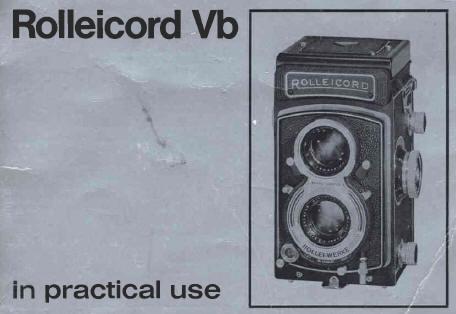 rolleicord vb instruction manual user manual pdf manual rh butkus org Rolleicord IV Rolleicord IV