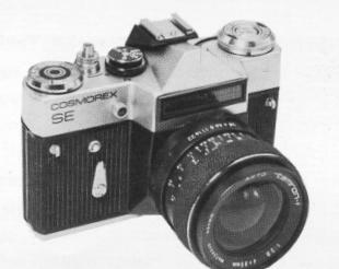 Cosmorex-se camera manual, user manual, russian cameras