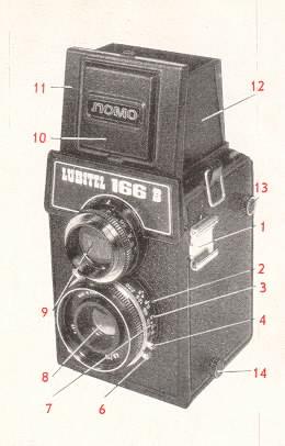 heayes.com cameras - Lubitel 166B