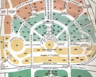 World\'s Fair 1964 guide book PDF, world\'s fair program book