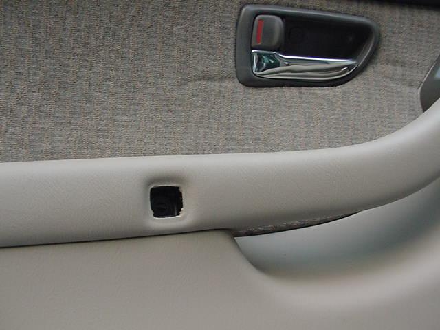 2001 Subaru Outback speakers